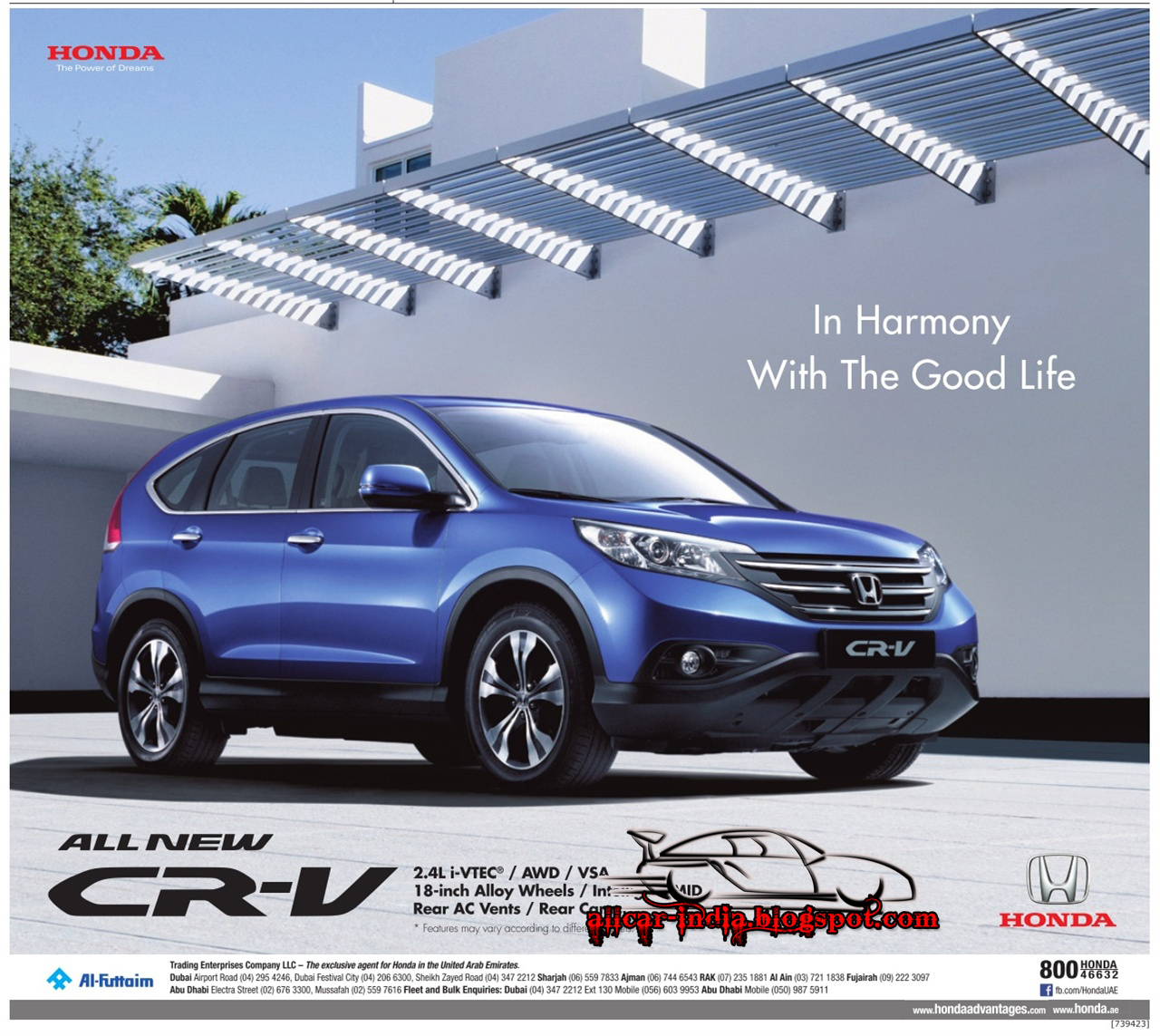 Hondau0027s Premium SUV, The CR V Has Gone Through A Lot Of Change With The  Fourth Generation. On Sale In India Since 2003, Honda Has Managed To Sell  14,000 ...