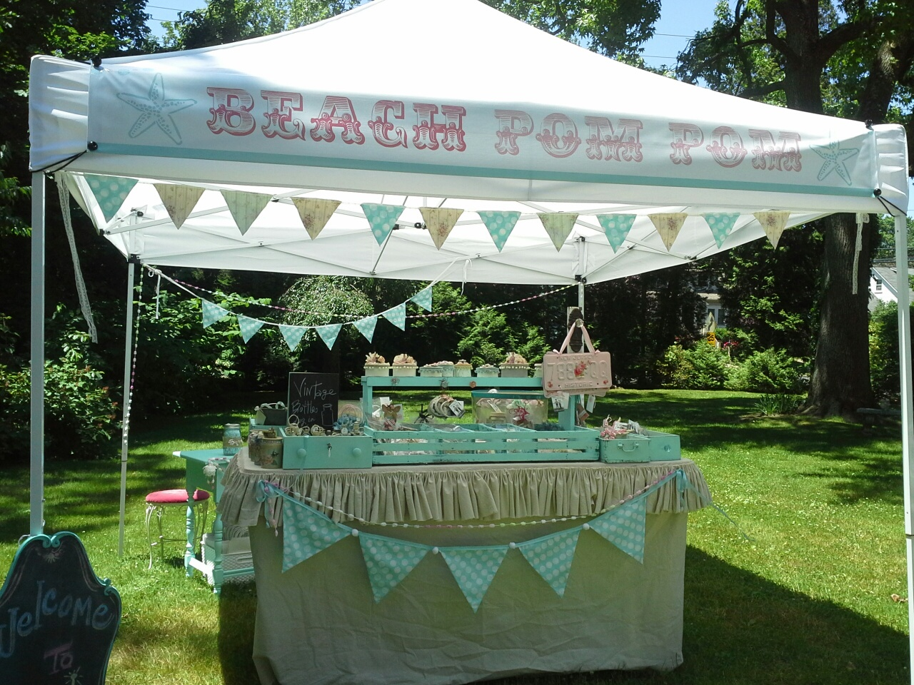 My craft show tent