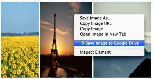 Save image to google Drive