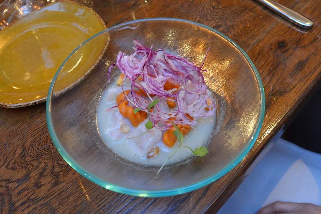 Restaurant Lima, London ceviche