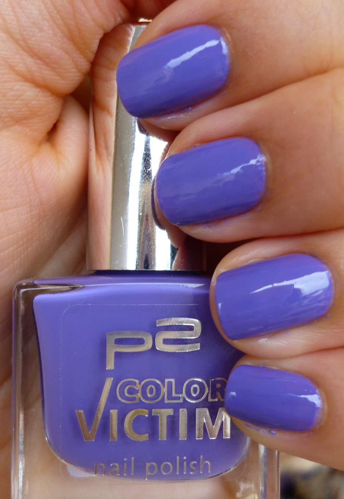 beauty +/-: p2 color victim Nagellack (540 poetic)