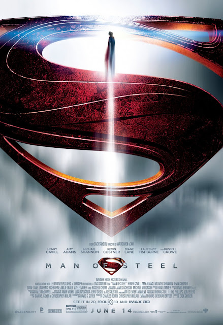 Superman Man of Steel Theatrical One Sheet Movie Poster