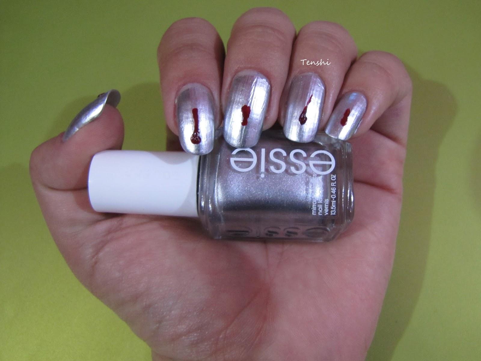 Nails by Tenshi: 31 días de uñas: Día 24, inspirado en un libro