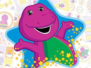 Barney Printable Birthday Party Kitcuties Parties