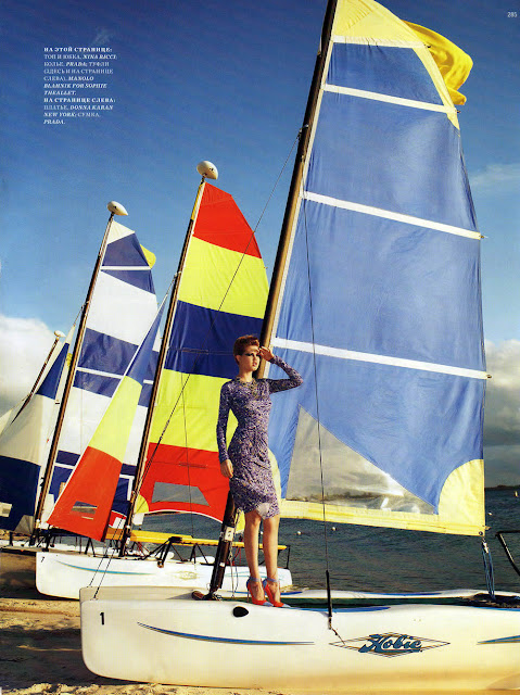 Harper's Bazaar Russia, editorial, Terry Richardson, Lindsey Wixson