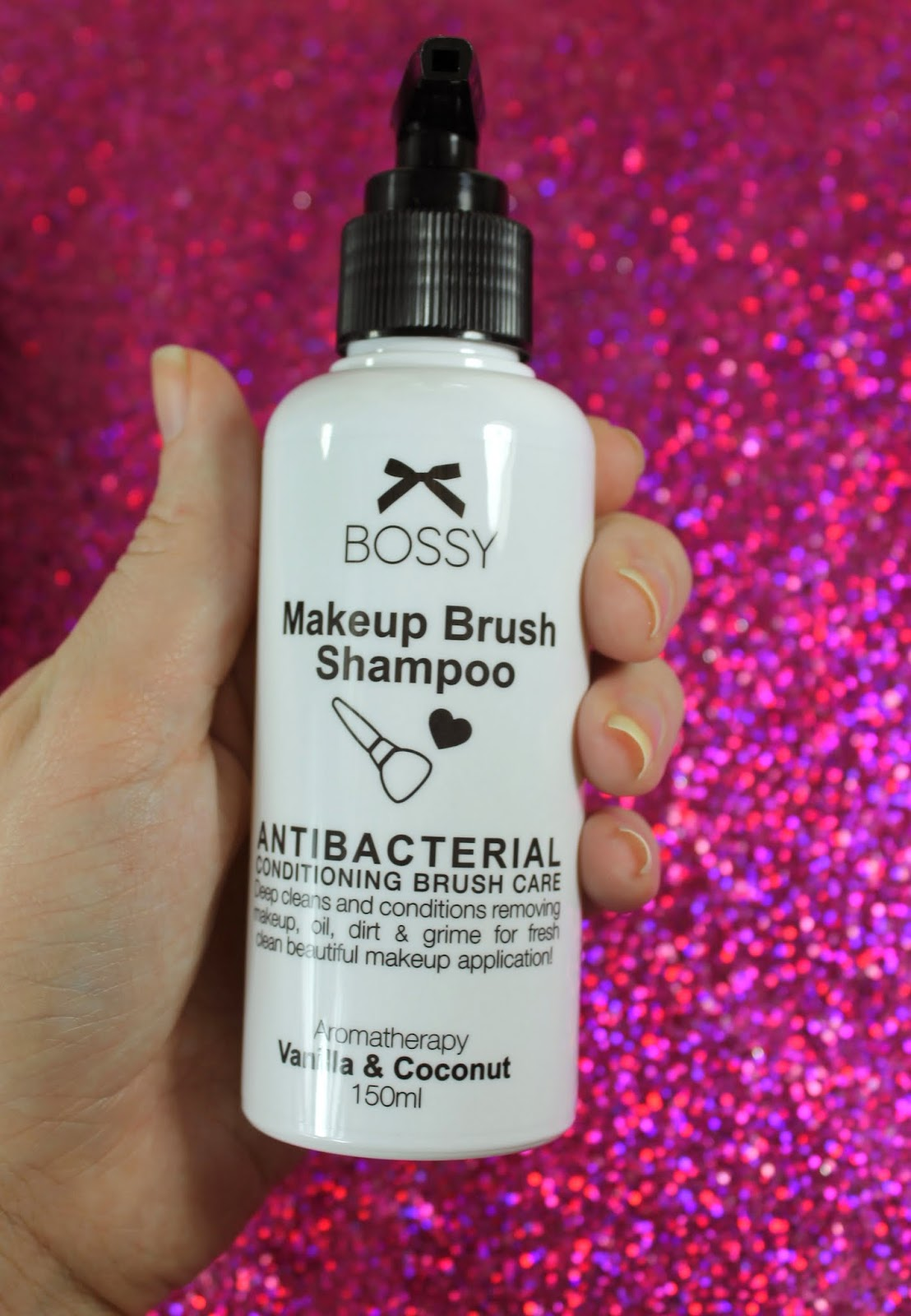 Brush Cleaning 101 with Bossy Cosmetics