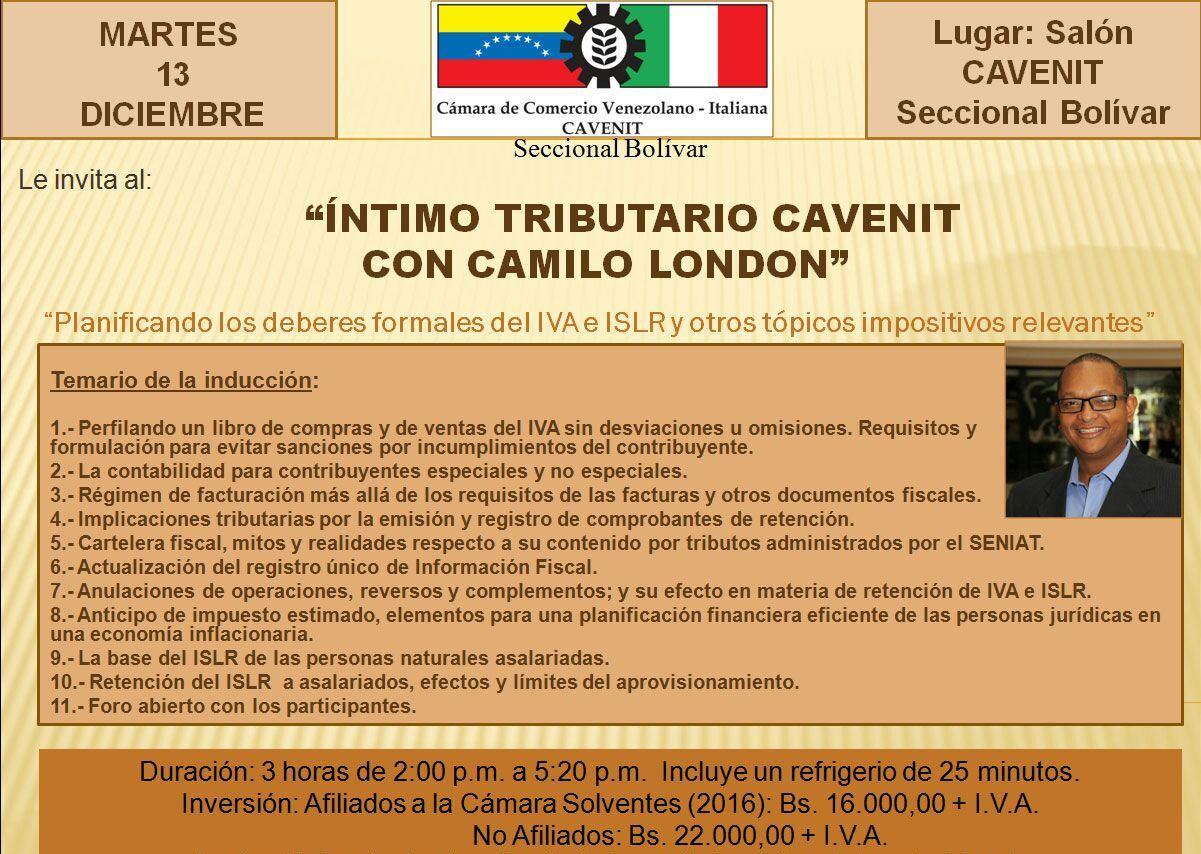 Íntimo Tributario en Puerto Ordaz