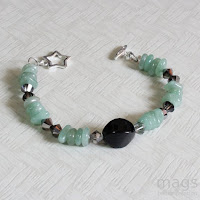 Aventurine Bracelet by MagsBeadsCreation