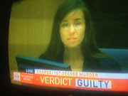 Verdict Live Jodi Arias. guilty of killing and being very attractive.