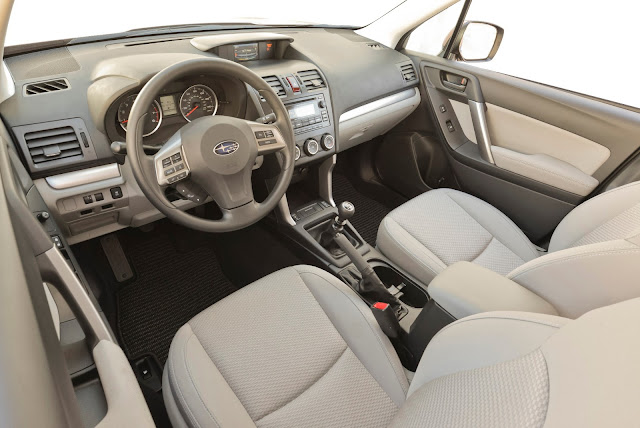 Interior view of 2014 Subaru Forester