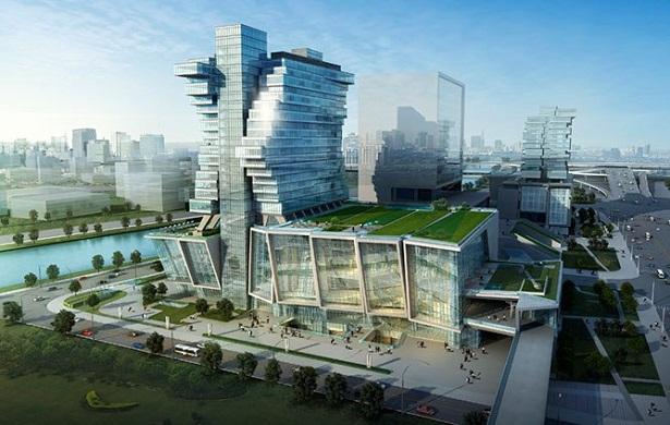 Khách sạn Pazhou ở Quảng Châu (Trung Quốc)
