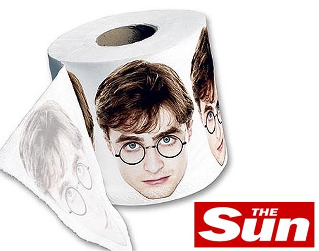 Harry Potter agora em papel higiênico! # Banheiro Feminino Harry Potter
