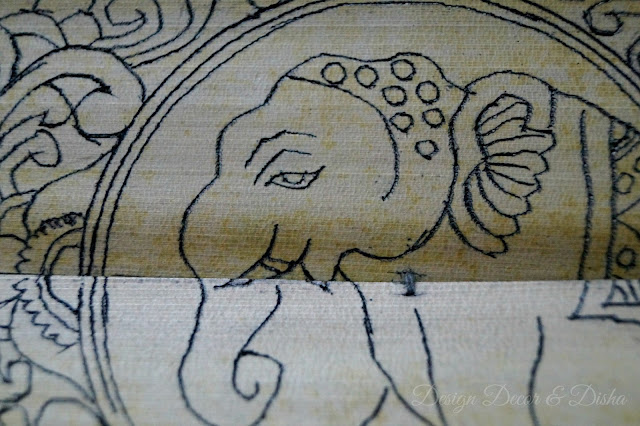 Patachitra on Palm Leaf