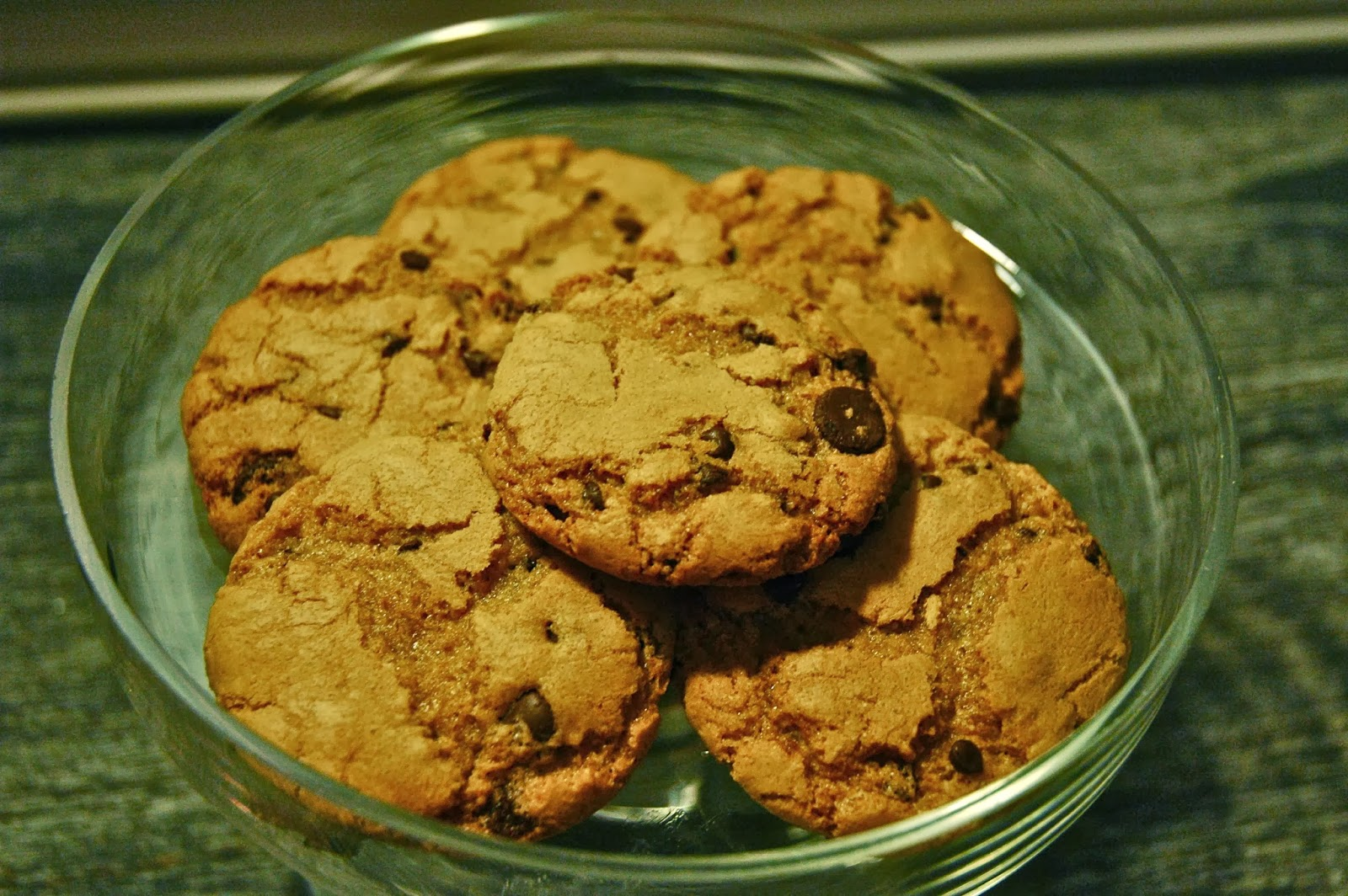 The Sugared And Spiced Kitchen No Mixer Needed Chocolate Chip Cookies