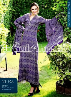 Gul Ahmed Viscose Linen Dresses