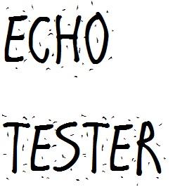 Echo Tester