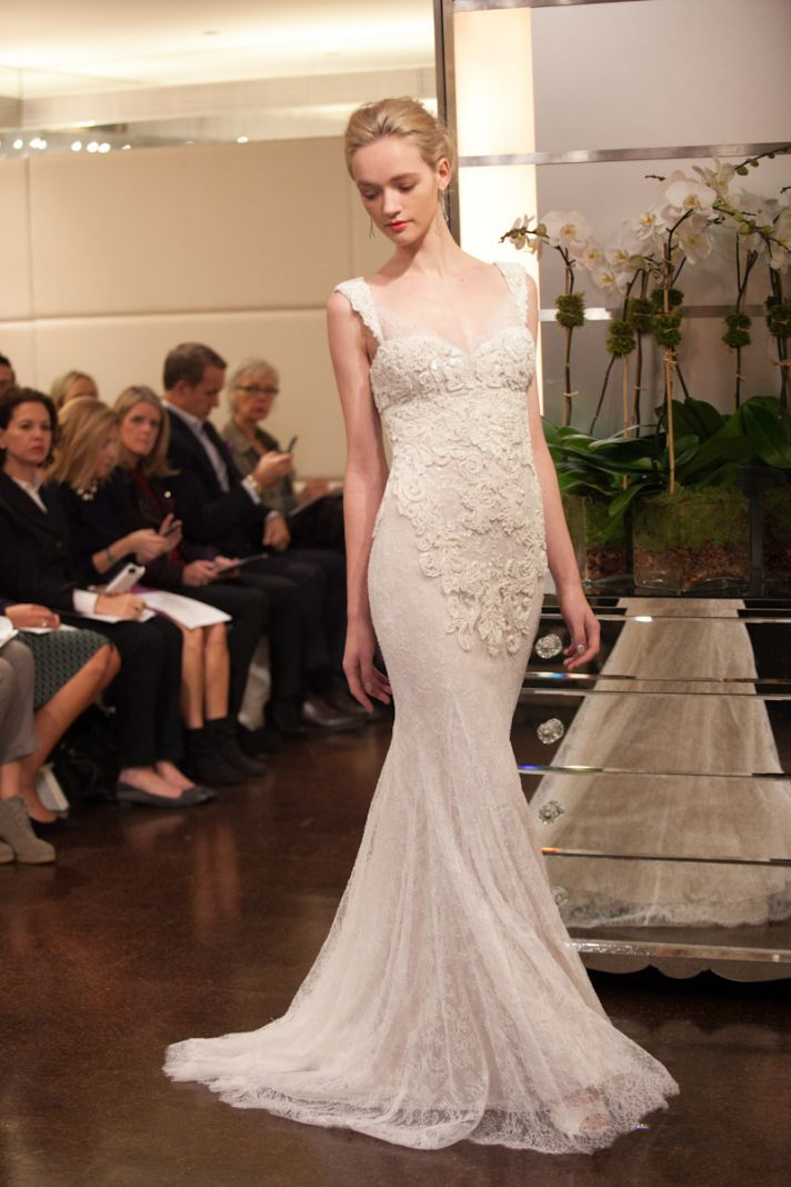 Dawn j 39 s fashion wedding gown wedding dress fall 2013 by for Wedding dress badgley mischka