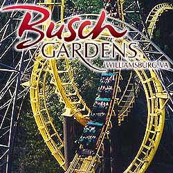 Then Bush Gardens amusement