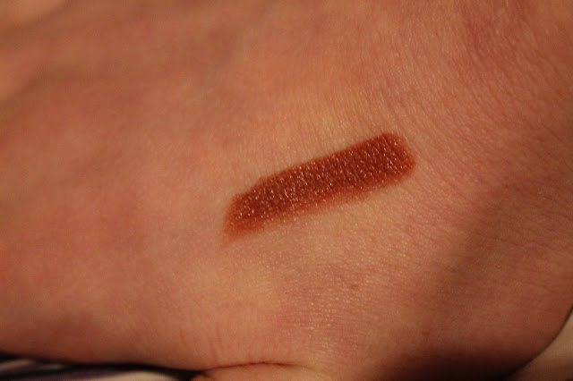 mocha swatched on back of hand