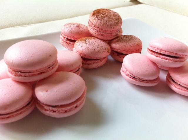 Chez Pei: Pink Macaroons