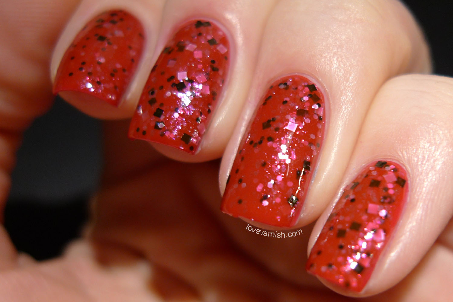 HARE Twin Peaks The Red Room nail polish