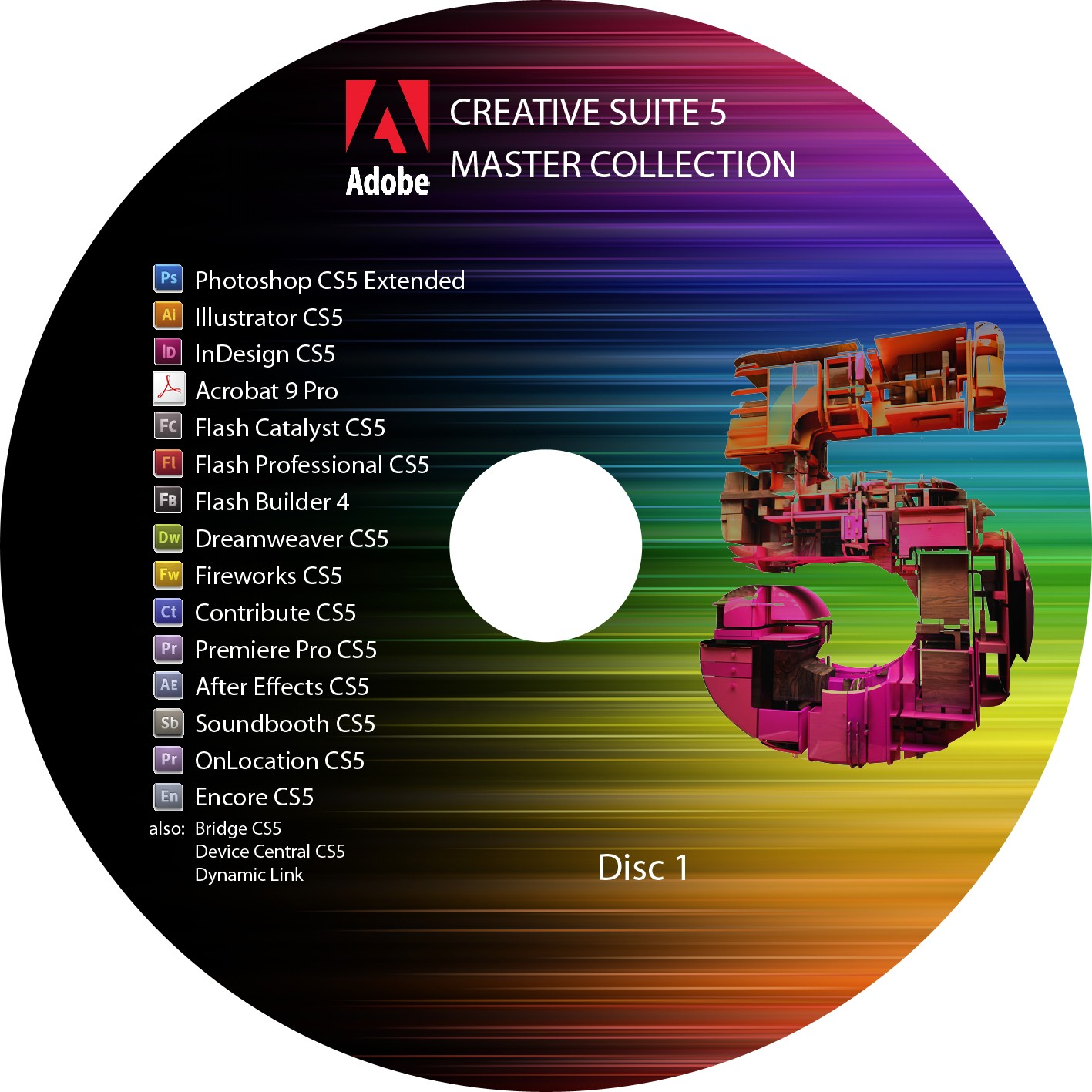 Adobe master collection cs5 by load
