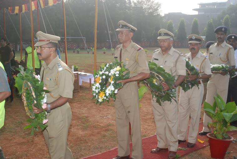 Police Commemoration Day 2011 Panaji, Goa.