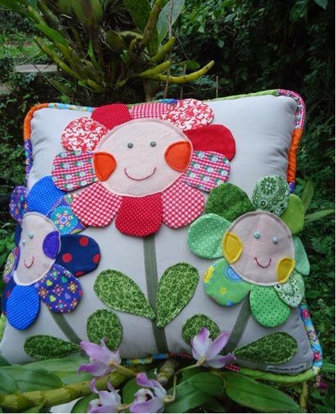 studioscrap: Пэчворк, текстильная вышивка. Садовое вдохновение!