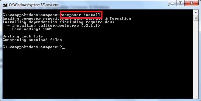 Cara Menginstall dan Menggunakan Composer di Windows