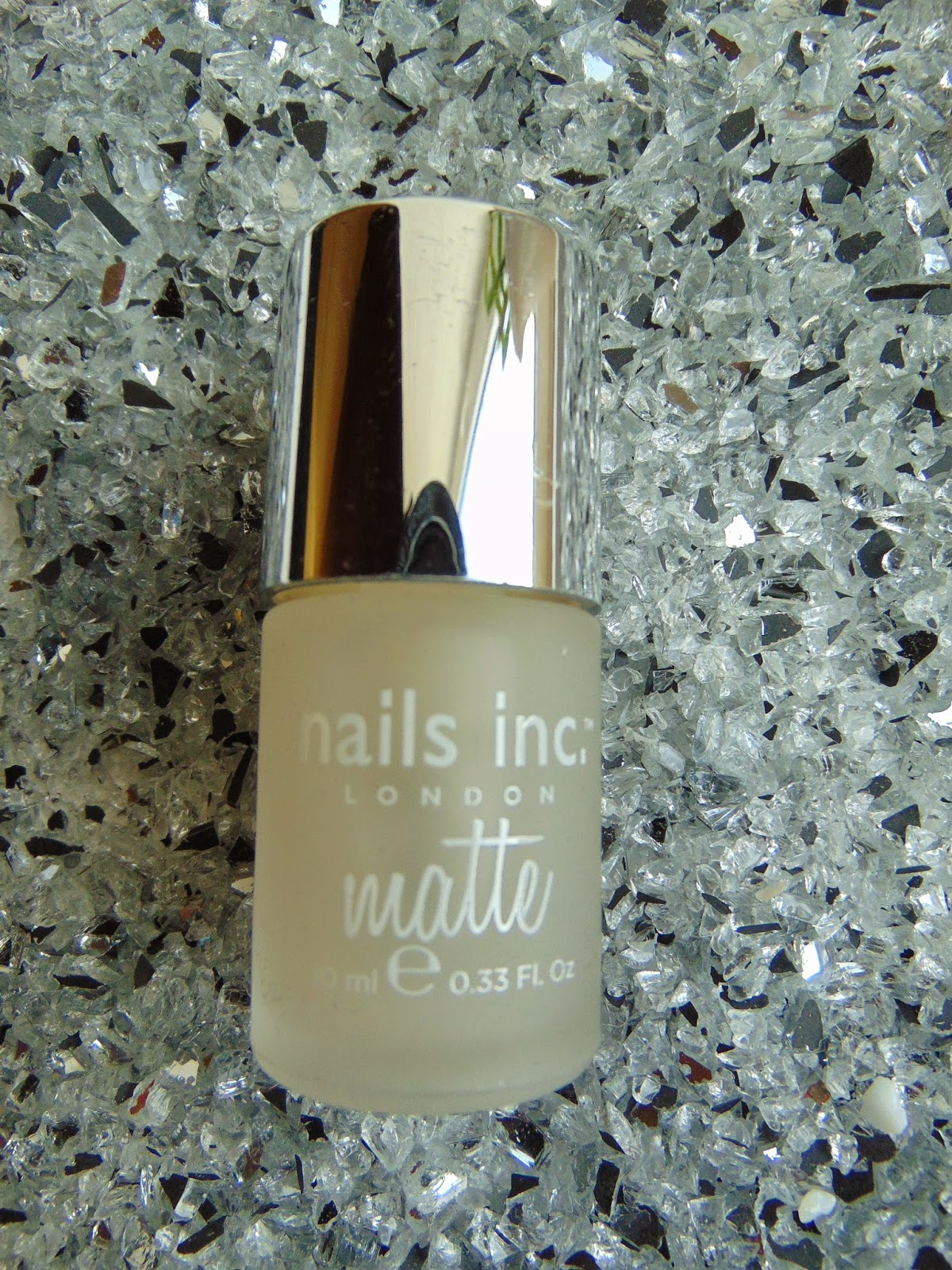 Nails inc - Westminster Bridge Matte Top Coat - www.annitschkasblog.de