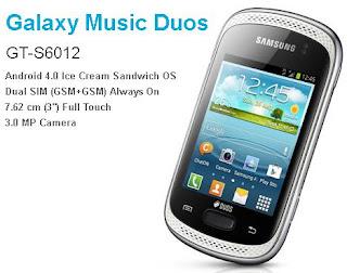 Samsung Galaxy Music Duos 2012 pic