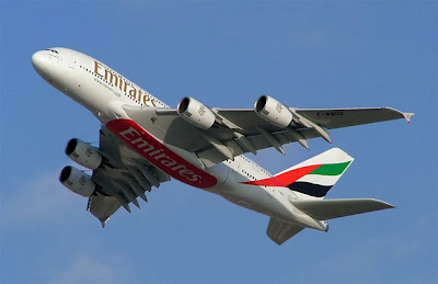 Emirates A380 to Los Angeles
