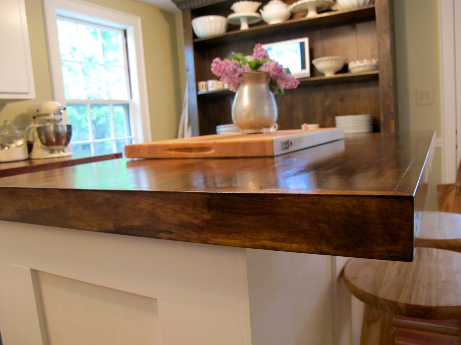 DIY Kitchen Island Countertop