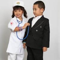 jual baju dokter kecil