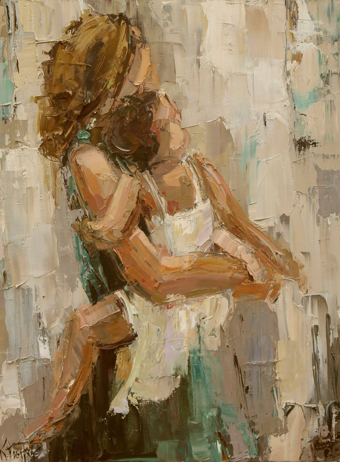 Daily Painters Of Georgia Quot Mama Quot By Kathryn Morris Trotter
