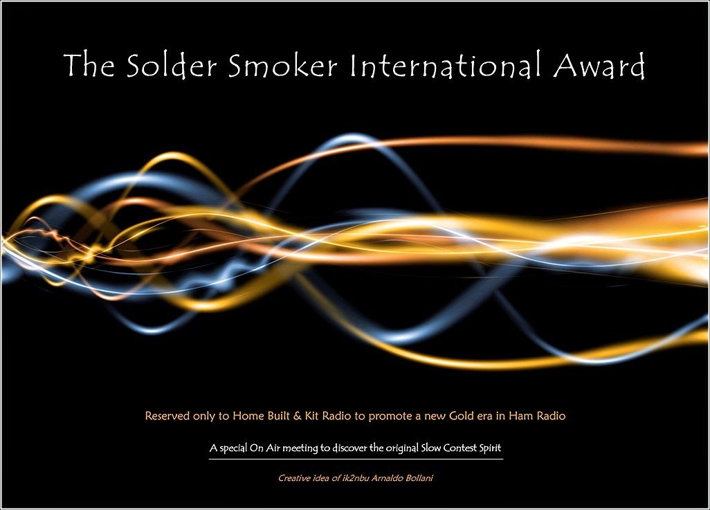 SOLDER SMOKER AWARD