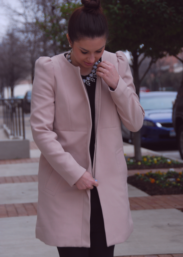 Style Diary: Pink Coat