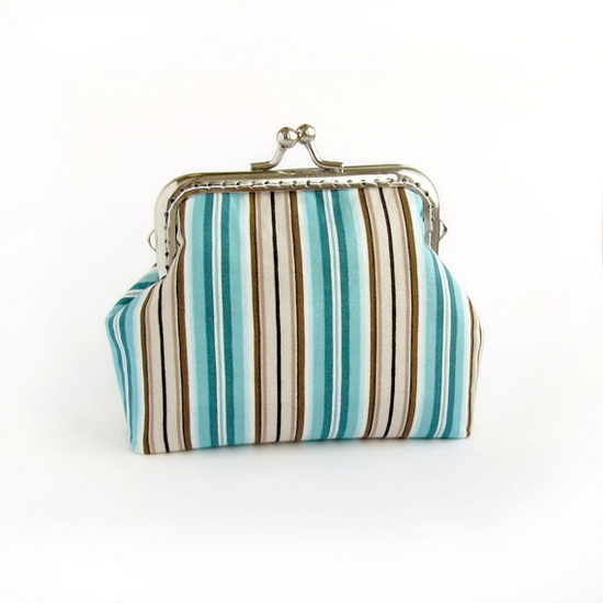 Striped purses, кошельки в полоску