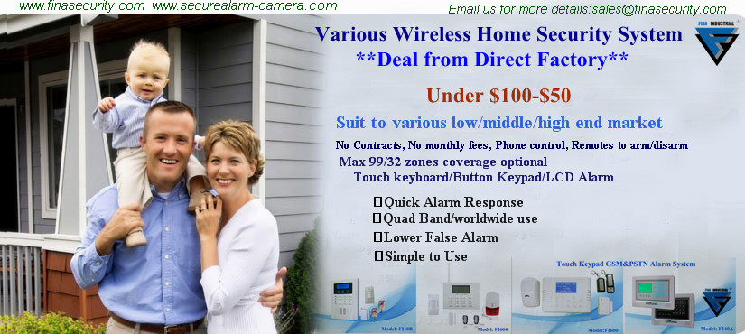 Gsm Mms 3g Tel Wireless Alarm System For Home Security