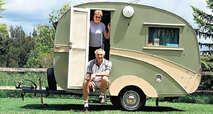 Amazing Vintage Caravans Collection On EBay