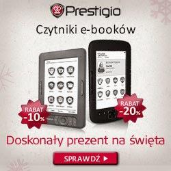 Czytniki Prestigio w świątecznych cenach :)