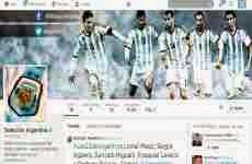 La Selección Argentina de fútbol presentó las cuentas de Facebook y Twitter que usará en el mundial de Brasil