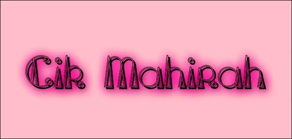 ✿ Mahirah Mahat ✿