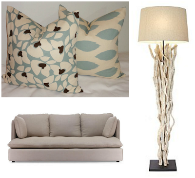 coastal living room accessories