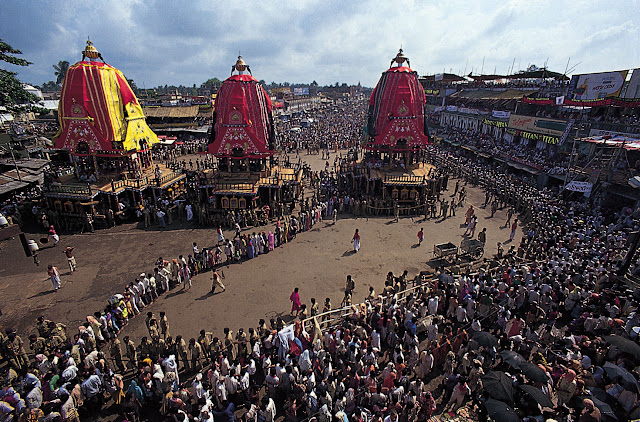 Rath Yatra, Puri, India