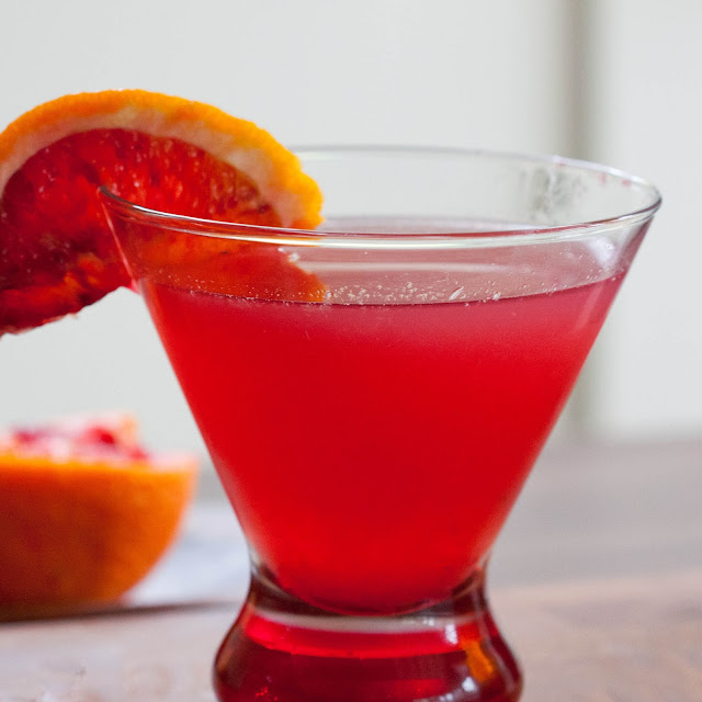 Lily Lemontree: THE COCKTAIL HOUR: Blood Orange Margarita