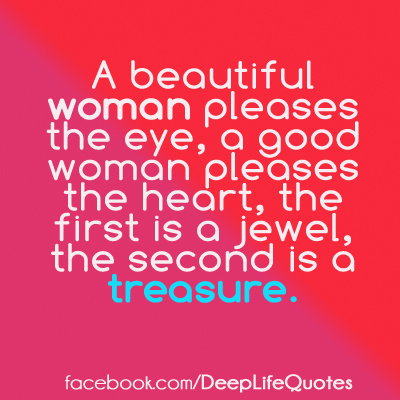 The Qualities Of A Good Woman