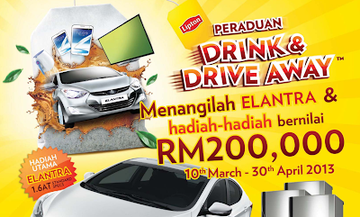 Peraduan Lipton 'Drink & Drive Away'