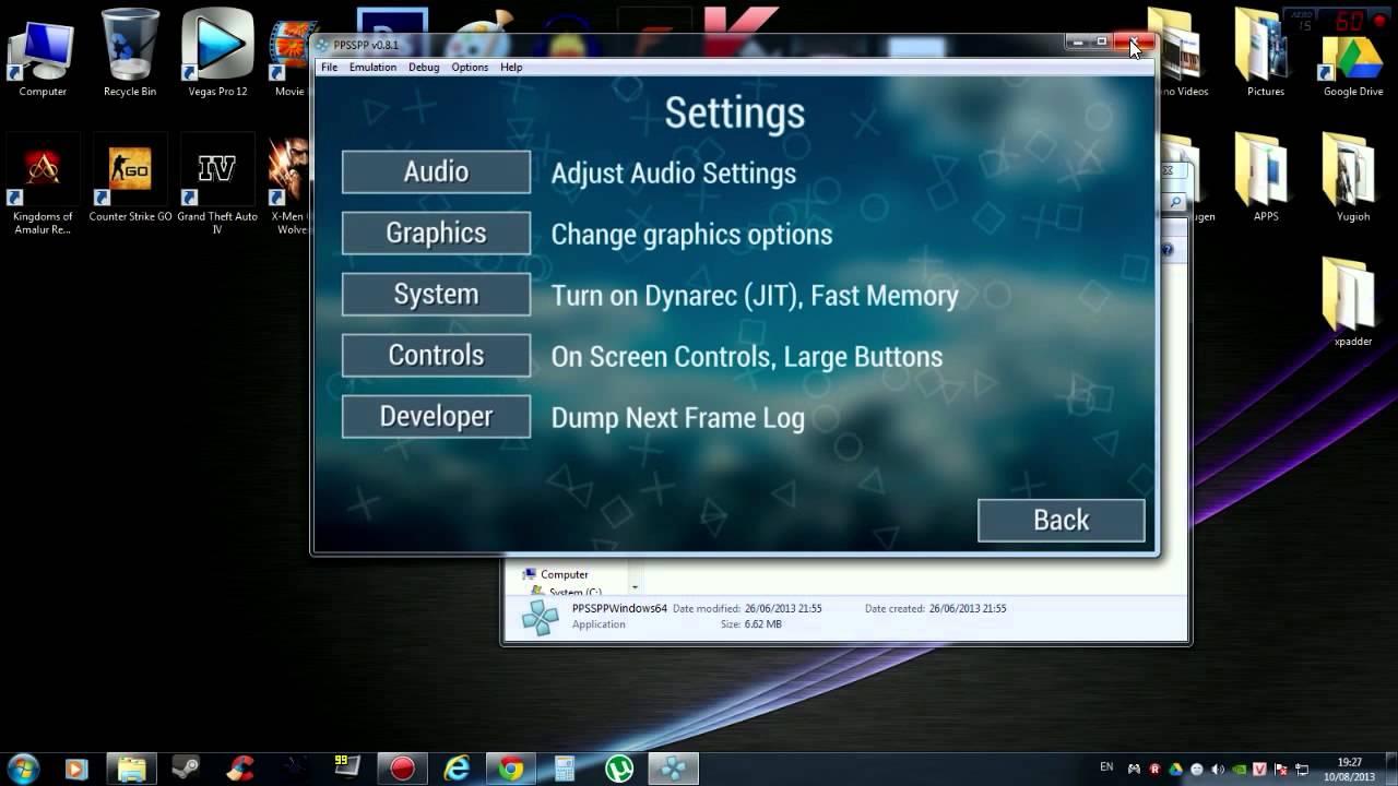 download emulator psp untuk pc 64 bit