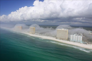 Niebla sobre una Ciudad de Florida